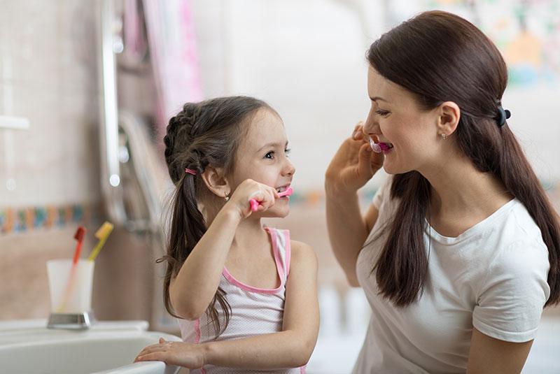 تسوس الأسنان، خطوات صحيحة لأسنان صحية